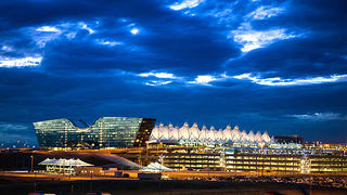 Jeppensen Terminal at Denver International Airport.