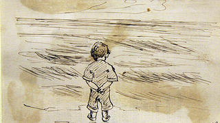 A drawing by a young Edward Hopper.