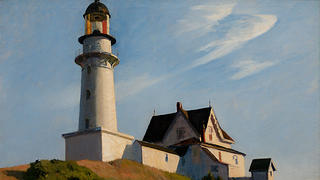 The Lighthouse at Two Lights by Edward Hopper.