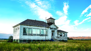 The PIoneer School in Park County Wyoming is located in a rural, historic community.