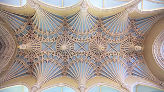 Dillon's firm Master of Plaster repaired the 18th-century Unitarian Church ceiling in Charleston, South Carolina.