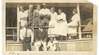 A photo of Charles Shearer and family.