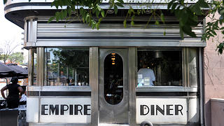 The famous Empire Diner in New York City.