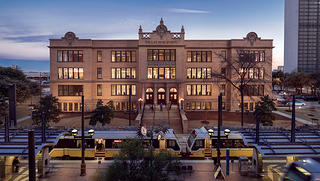 The exterior of Dallas High School.
