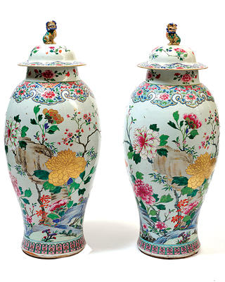 The Chinese vases at Filoli have a storied history.