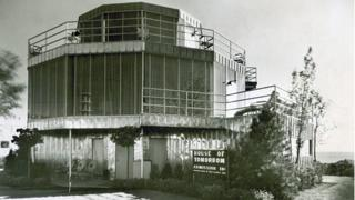 The House of Tomorrow in its heyday.