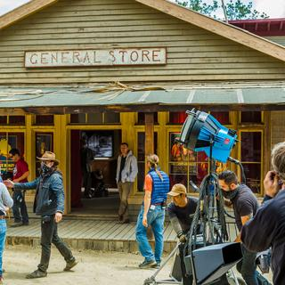 "The television show ""Drunk History"" filmed in Paramount Ranch's Western Town."