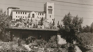 Southwest Museum and the Casa de Adobe, mid-1900s.