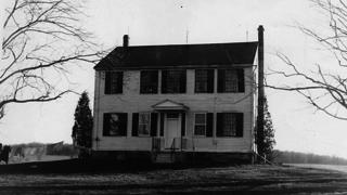 The Jethro Wood House as it appeared in 1962.