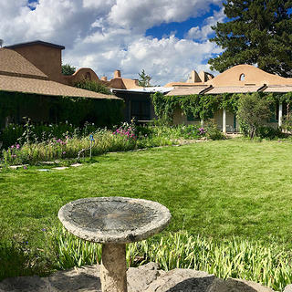 Garden at Couse-Sharp Historic Site, Taos, New Mexico
