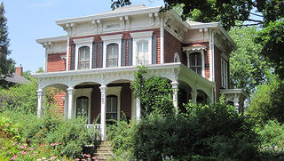 The Adolphus W Brower House in Sycamore is a great example of an Italianate residential structure.