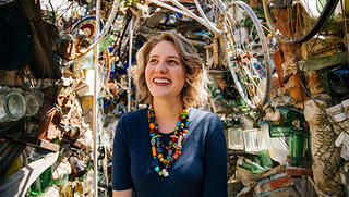 Philadelphia's Magic Gardens executive director Emily Smith.