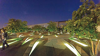 The National 9/11 Pentagon Memorial.