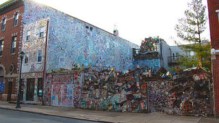Philadelphia's Magic Gardens isn't a garden at all, but a mosaiced empty lot and rowhouse.