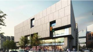 The Cooper Carry rendering of the new Atlanta-Fulton Central Library.