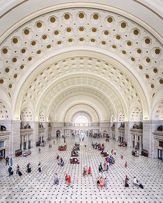 The Main Hall at Union Station in Washington, D.C.
