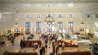 ZGF Architects designed the restoration and rehabilitation of King Street Station in Seattle, which was completed in 2013.