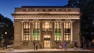 Philadelphia's 1907 Corn Exchange Bank is now home to cloud hosting company Linode.