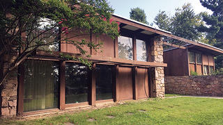Louis Kahn's house is threatened with demolition by neglect.