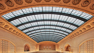 Chicago's Union Station skylight was carefully restored and protected for decades to come.