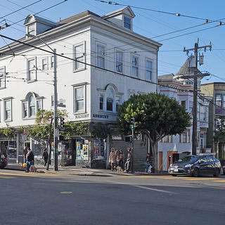 Corner of Haight and Ashbury, San Francisco, California