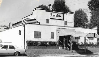 A historic photo of the Excelsior Club.