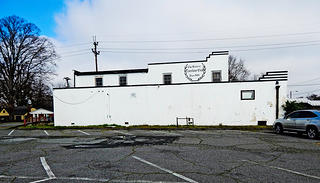 The exterior of the Excelsior Club.