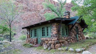 One of the Phantom Ranch's lodges.