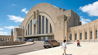 Union Terminal Half Dome, Cincinnati, Ohio