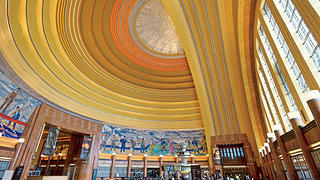 Union Terminal Rotunda, Cincinnati, Ohio