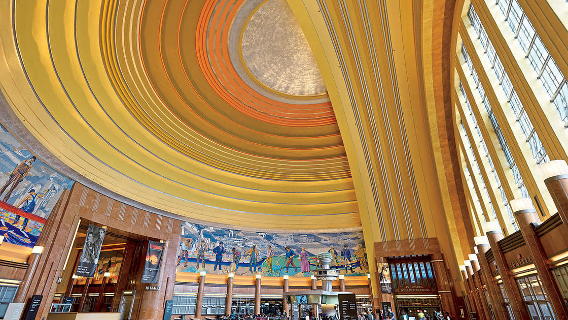 Public Support Puts Cincinnati's Union Terminal Back on Track