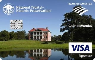 Bank Americard Cash Rewards Visa