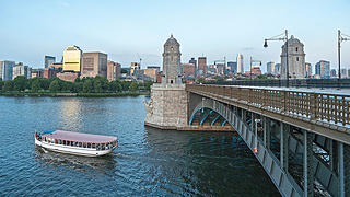 The Longfellow Bridge.