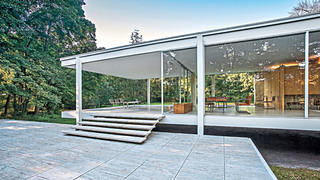 Farnsworth House Patio