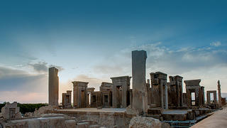 The Apandana in Persepolis, Iran
