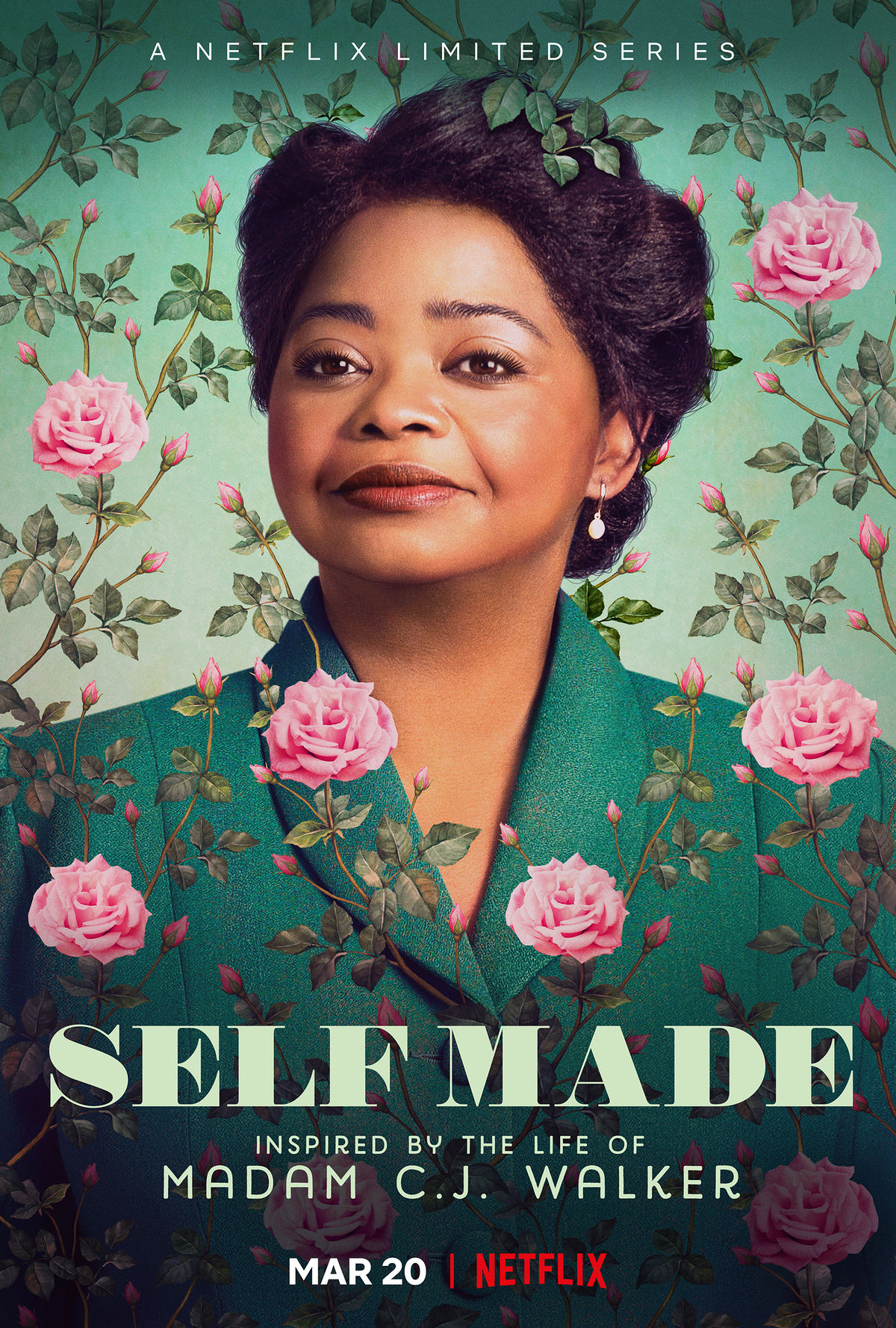 Images from the Netflix Miniseries Self Made