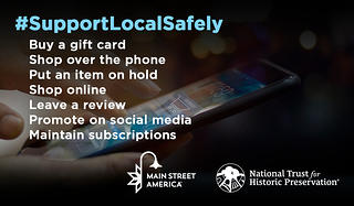 #SupportLocalSafely