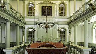 Touro Synagogue Interior
