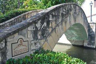A view of Rosita's Bridge in San Antonio, Texas. Named after Tejano musician Rosita Fernandez.