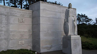 West Coast Memorial to the Missing of World War II, Presidio, SF