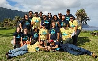 Group Photo of HOPE Crew at Kalaupapa National Historic Park