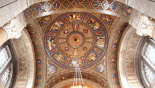 Guastavino tile at the Nebraska State Capitol.