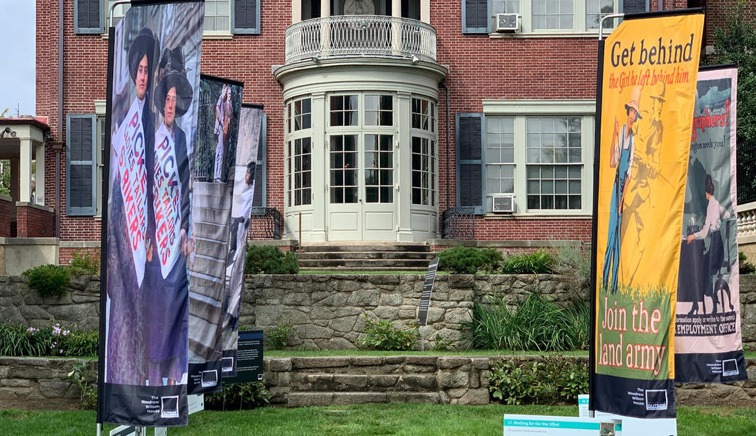 Suffrage Outside: President Woodrow Wilson House Marks the 19th Amendment at 100   National Trust for Historic Preservation