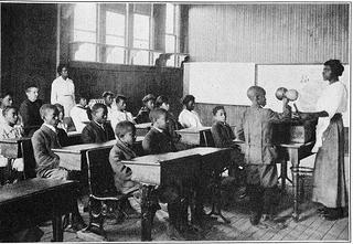 With expanding access to higher education, by 1910 women were nearly 80% of professional teachers in America. Black women, training at schools such as Spelman Seminary, which opened in 1881, made up just under 3% of the teaching force and faced discrimination in hiring and pay.