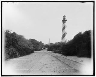 1902 Photograph of the St. Augustine Light Station.