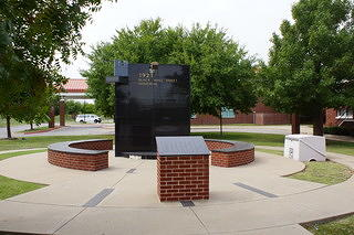 Black Wall Street Memorial at the Greenwood Cultural Center