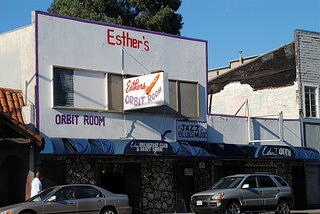 Photo from Esther's Orbit Room - West Oakland in 2007.