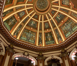 Interior of the DeKalb County Courthouse