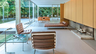 Farnsworth House Typical Interior