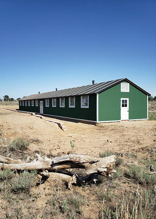 The 11-F Recreation Building at Amache.